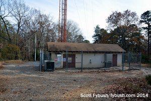 WSJO's transmitter building