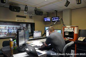 WAXY control room