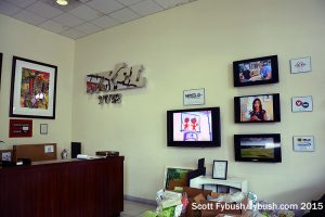 WXEL's lobby
