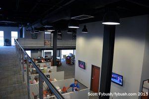 WTHI-TV's newsroom