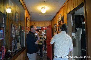 WOLF hallway