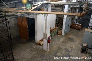 WPTF's basement