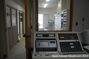 Control room at 850