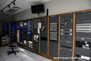 Radio rack room