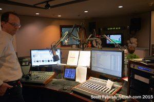 WETA's rebuilt FM studio