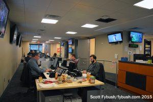 WNEW newsroom
