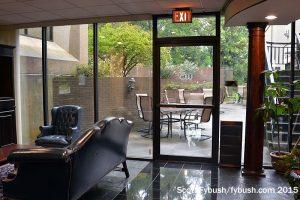 WSPA's patio