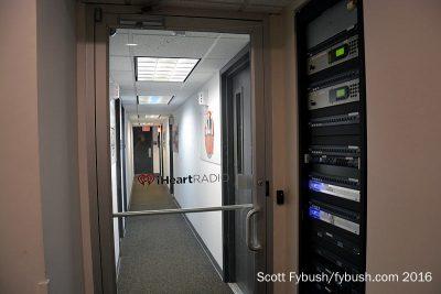 iHeart studio hallway