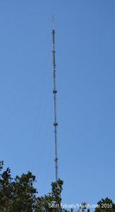 The WRAL-FM/WRDC tower