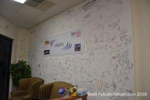 Digity's lobby wall