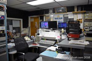 WESR-FM studio