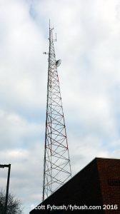 WHCP's tower