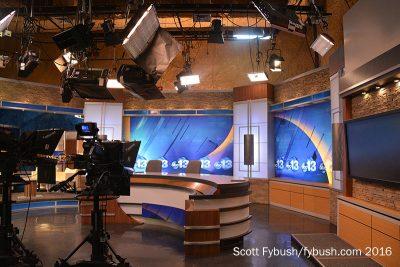 News studio