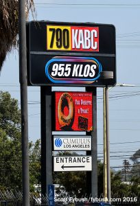 KABC's sign
