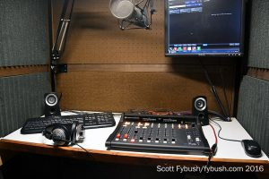 WERG's production booth