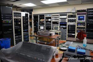 WKTV's old MCR area...