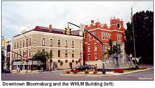 Some Small Towns Have Enough Radio History For A City Many Times Their Size Bloomsburg Pennsylvania Most Definitely