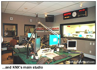 A selection from a decade of visits to tower and studio for Knx 1070