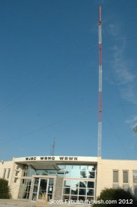 The WBNQ/WJBC tower