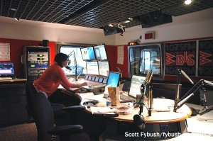 WBLS in the former WRKS studio