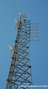 Aux antenna at KELO