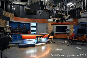 Before: WTHR's old set