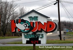 Doghouse sign